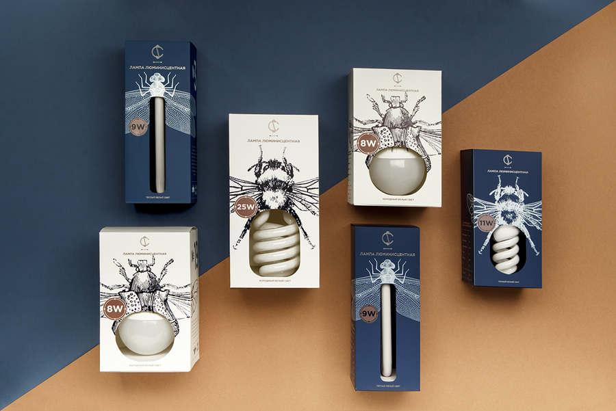 diseños cajas para focos