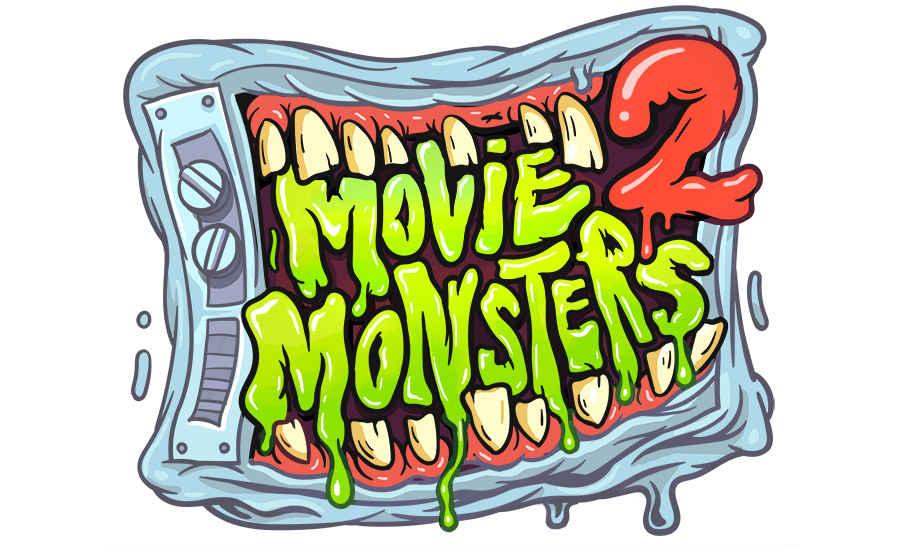 ilustraciones movie monsters