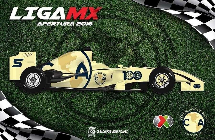 monoplaza F1 de equipos de la liga MX
