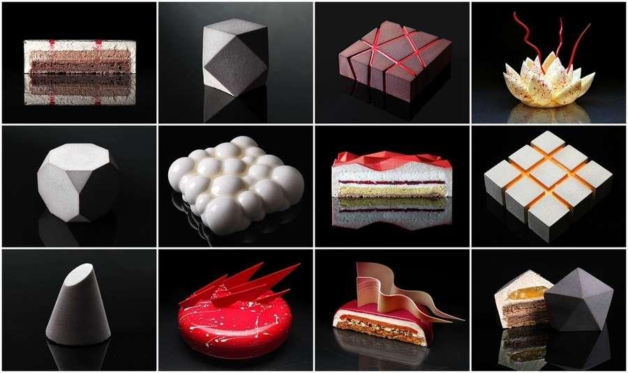 pasteles y dulces arquitectónicos