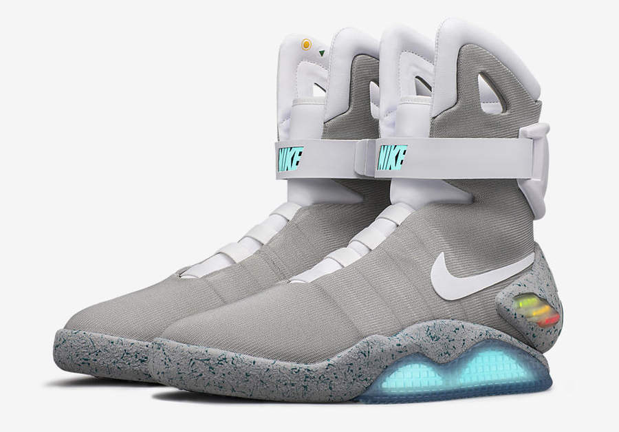 tenis Nike de Volver al Futuro