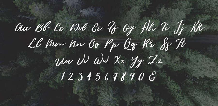 tipografía caligráfica gratis
