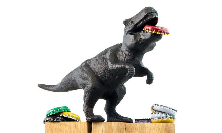destapador dinosaurio