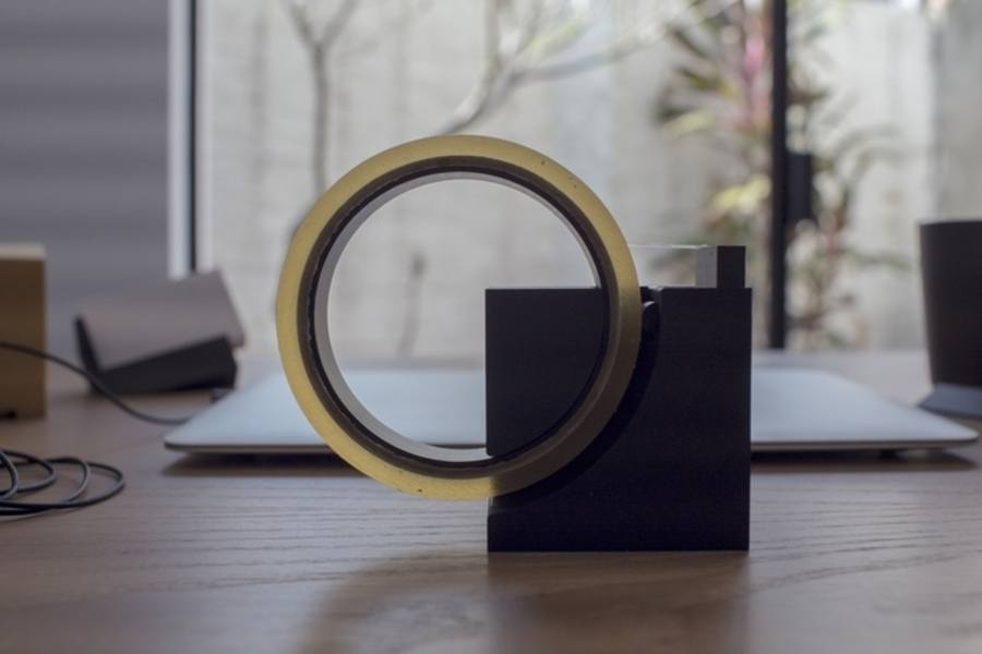 dispensador de cinta adhesiva elegante