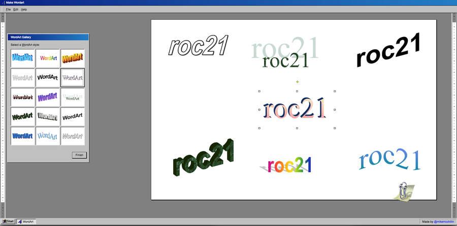 efectos Word Art
