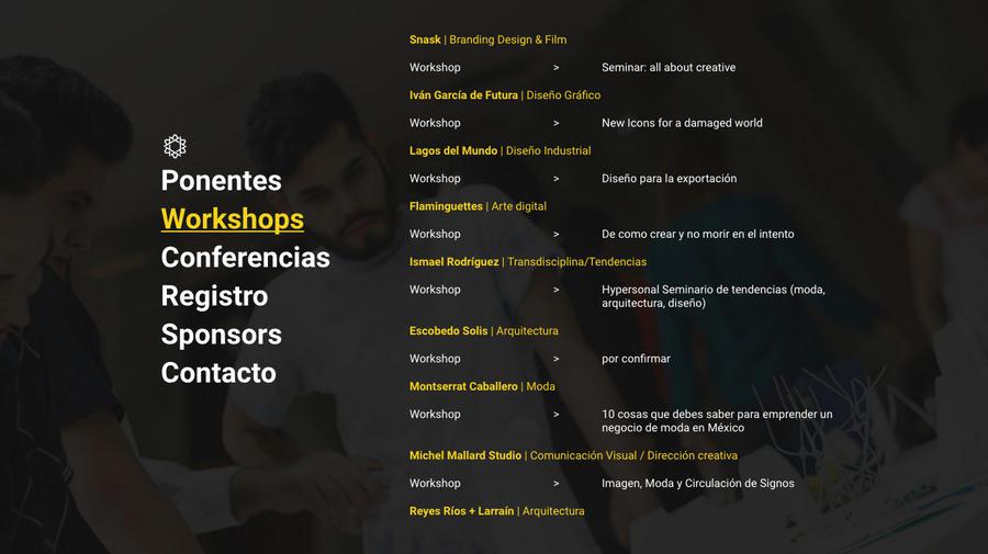 encuentro internacional de diseño