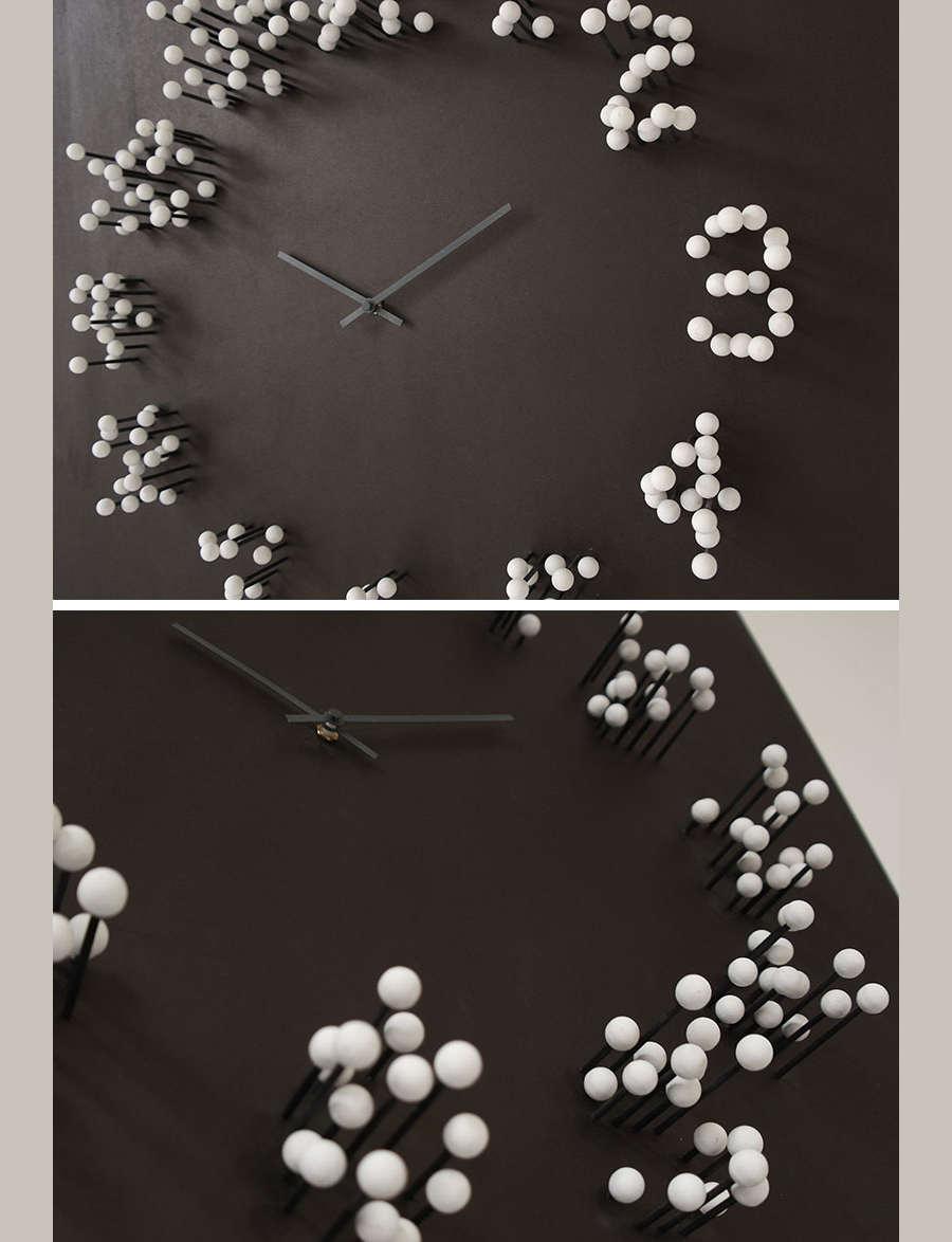 reloj de alfileres
