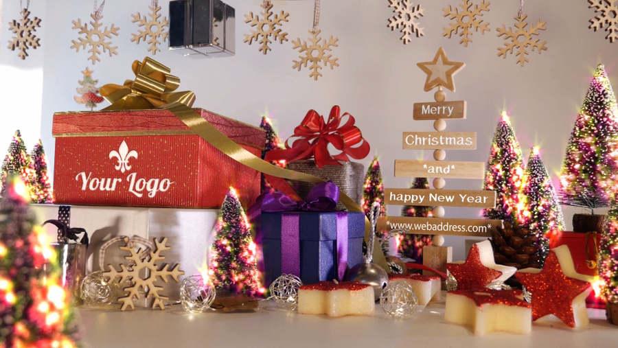 tarjetas de navidad en video