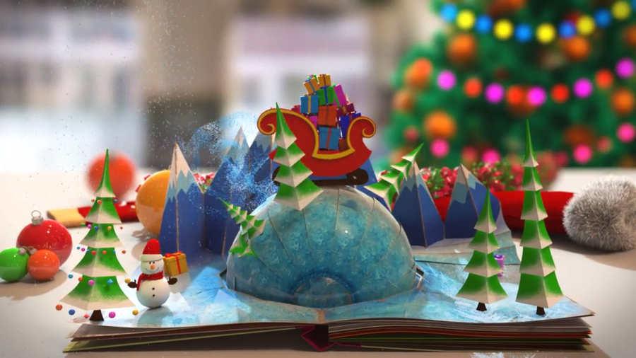 Bajar Felicitaciones De Navidad.10 Tarjetas De Navidad En Video Para Descargar Y Personalizar
