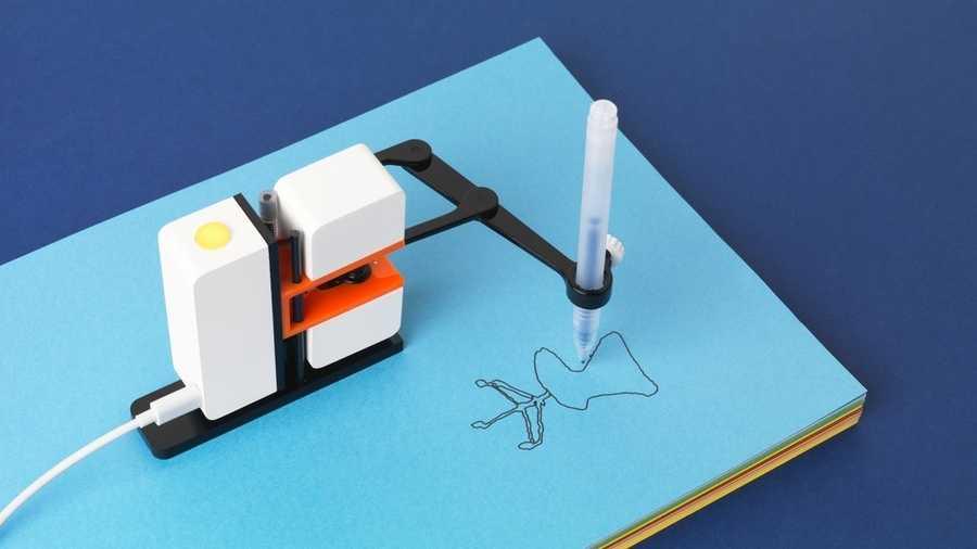 brazo robótico para dibujar