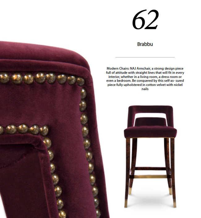 libro con 100 sillas modernas