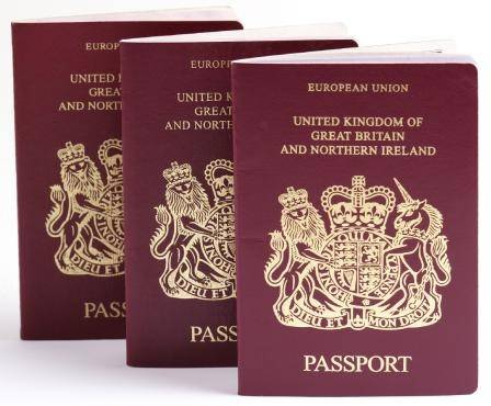 pasaporte de Reino Unido