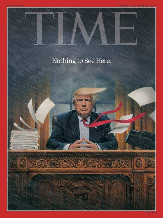 portada revista Time Donald Trump