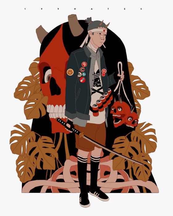 cazadores de demonios japoneses