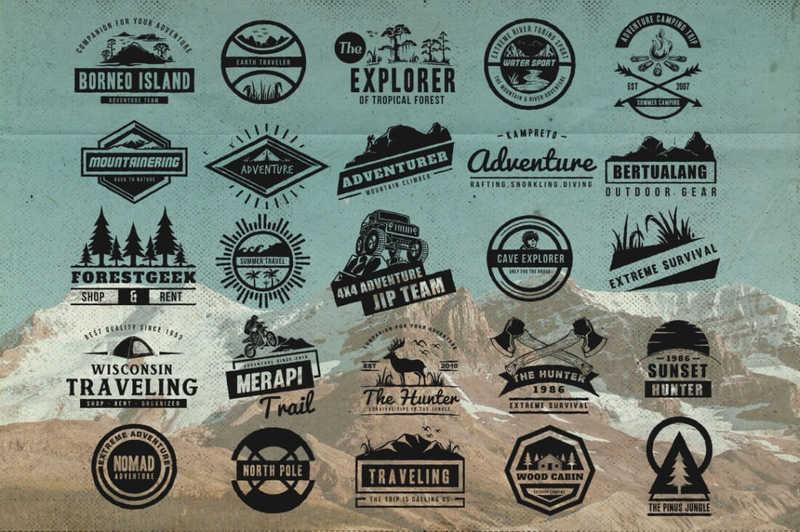 elementos gráficos para crear logotipos