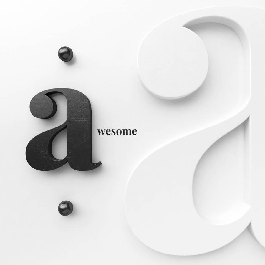 experimentos con tipografías