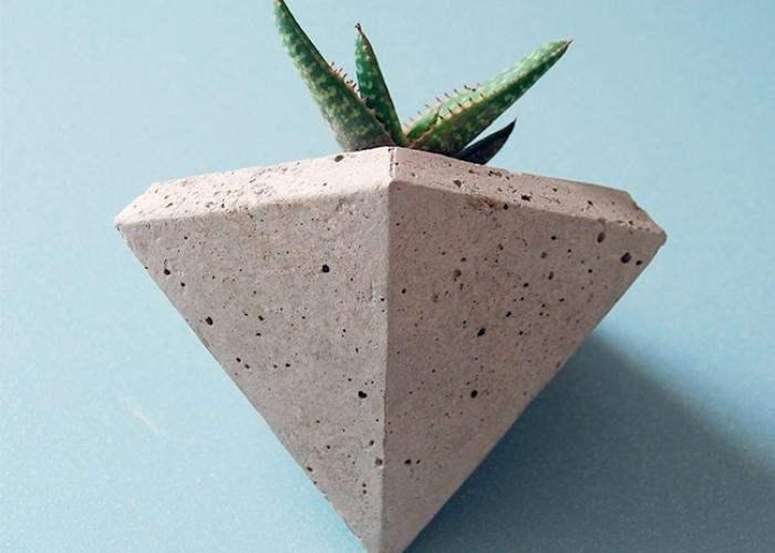 macetas de concreto