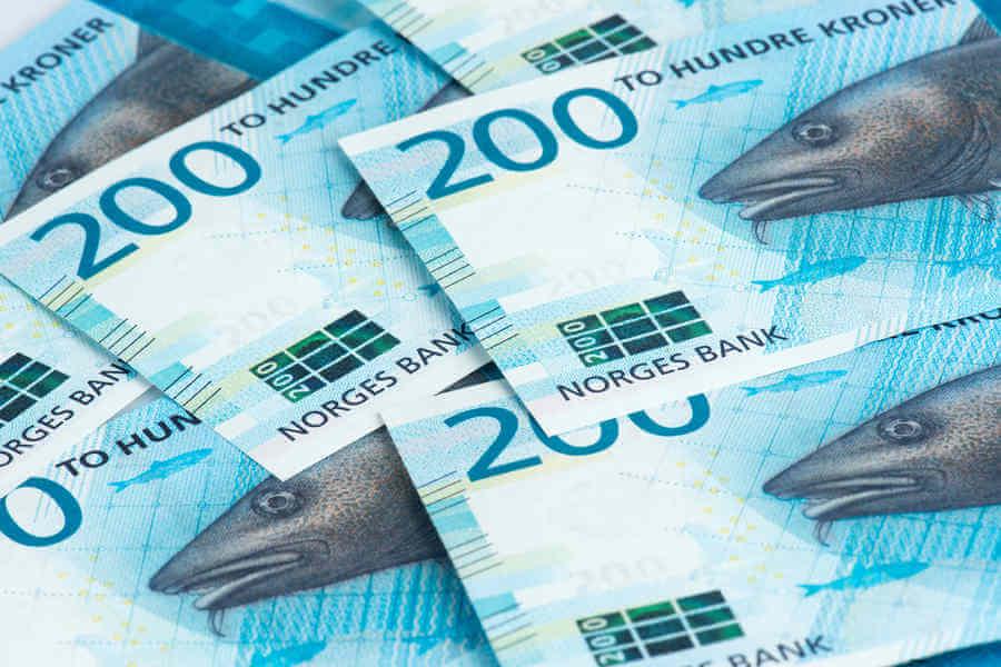 nuevos billetes de Noruega