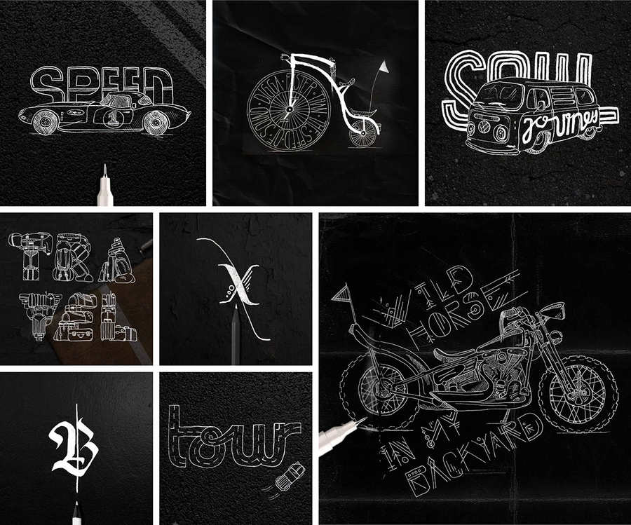 pequeños experimentos tipográficos