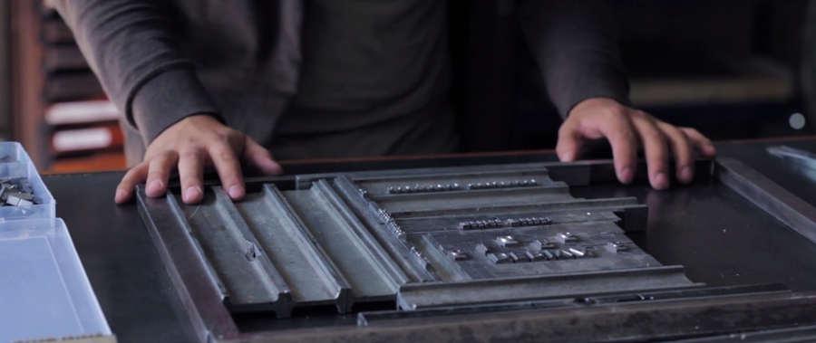 proceso de impresión de un libro