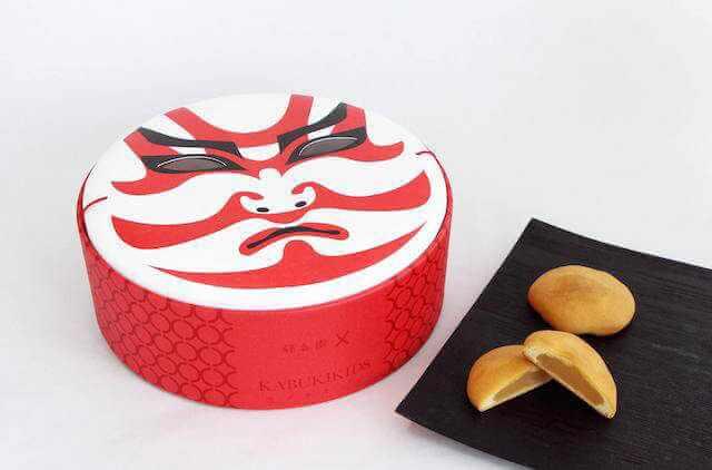 caja para dulces tradicionales japoneses