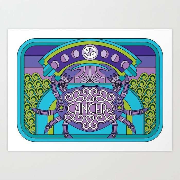 dibujo de signo zodiacal