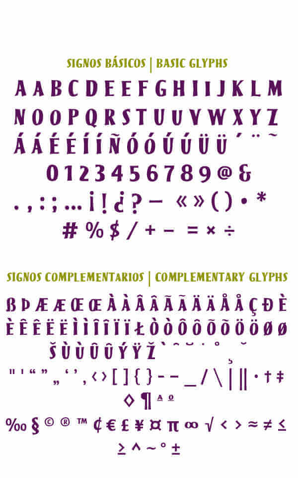 Fuente tipográfica basada en Memín Pinguín