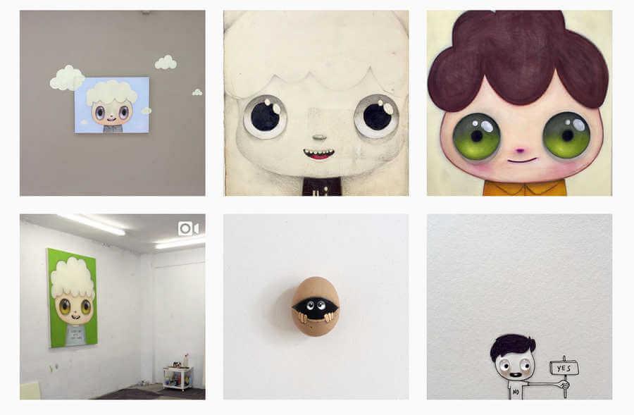 creativos en instagram