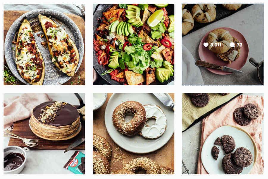 cuentas de Instagram sobre comida