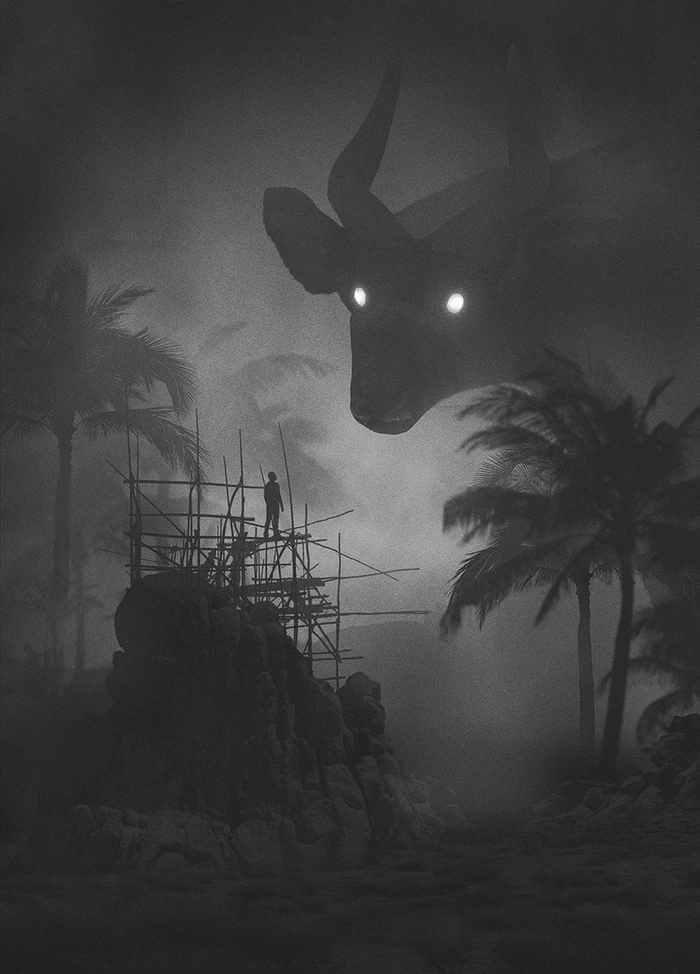 ilustraciones oscuras y misteriosas