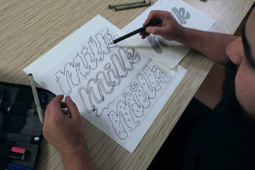 letras junto con ilustraciones