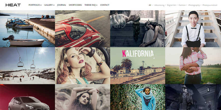 themes de wordpress