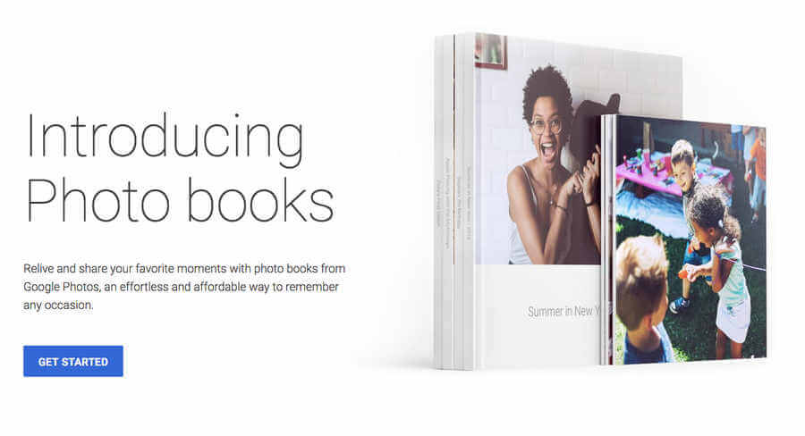 Google Photos Books