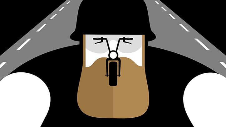 Noma Bar Biker Mercedes-Benz