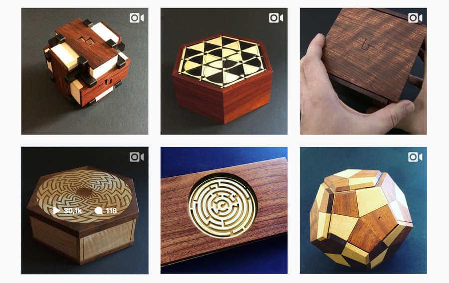 artesanos en Instagram