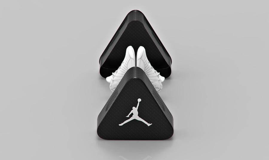 caja para tenis jordan