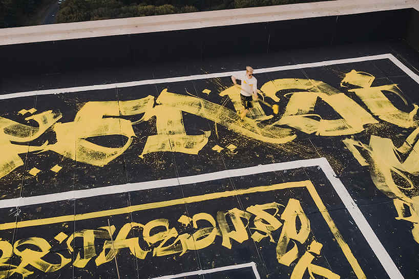 calligraffiti de Pokras Lampas