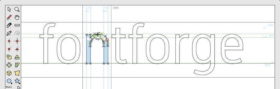 editor de tipografías