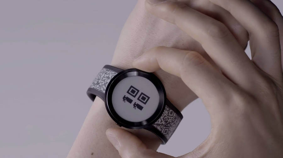 reloj de tinta electrónica