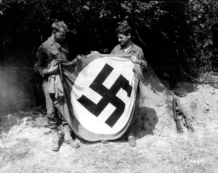 fotos de la invasión de Normandía