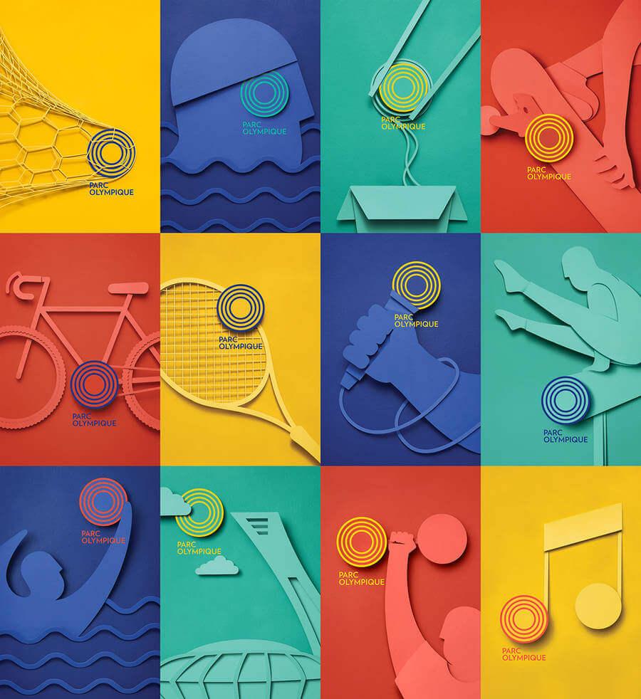 Posters del Parque Olímpico de Montreal