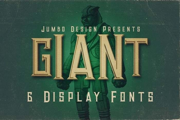 tipografías vintage