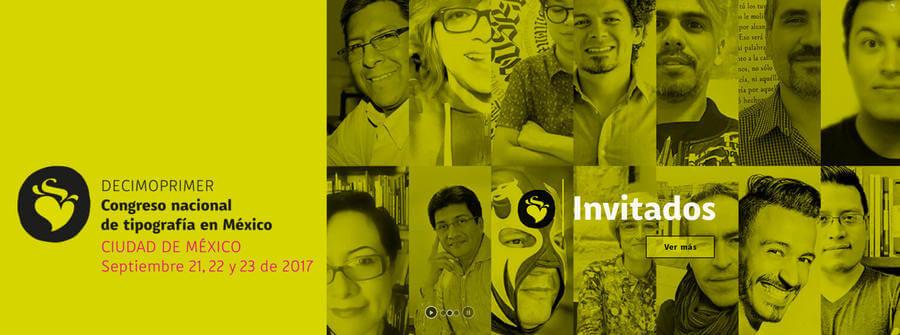 Congreso nacional de tipografía en México