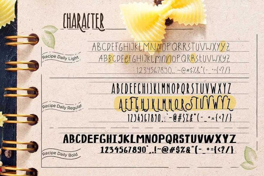 tipografías inspiradas en diseños clásicos