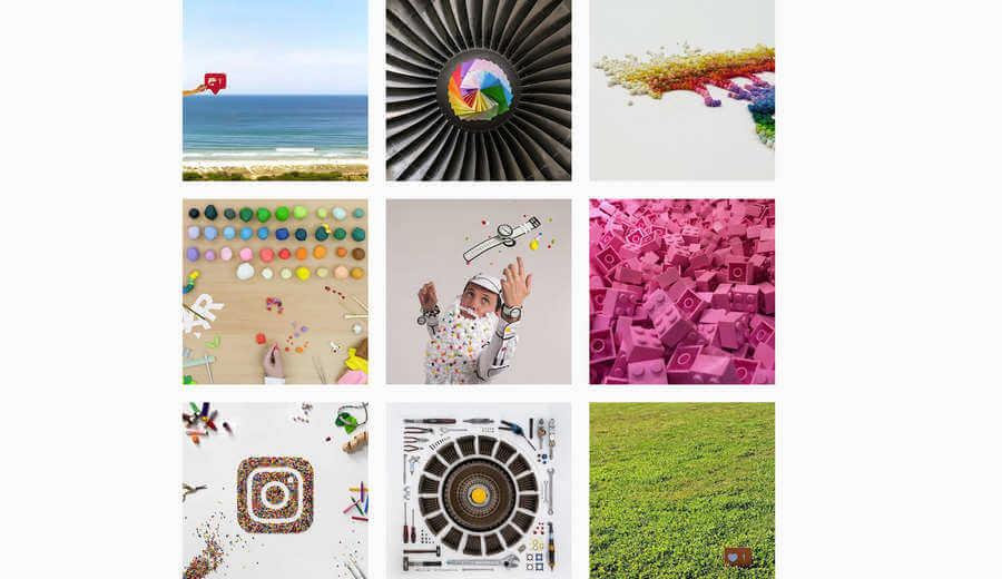 cuentas creativas en Instagram