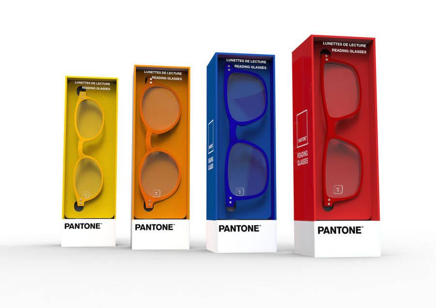 lentes PANTONE