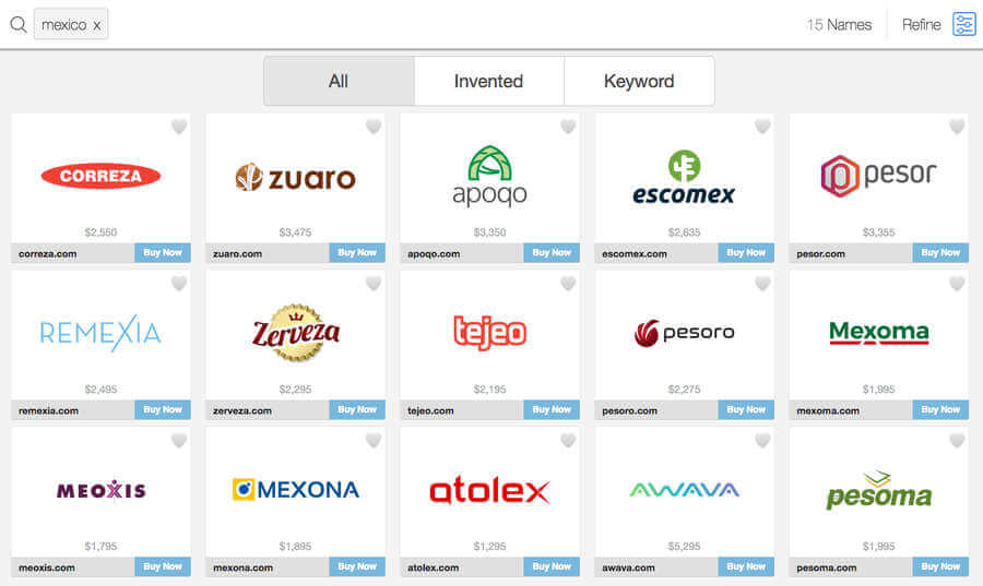 nombres originales de empresas