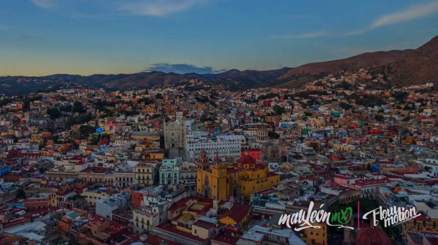 Guanajuato en flow motion