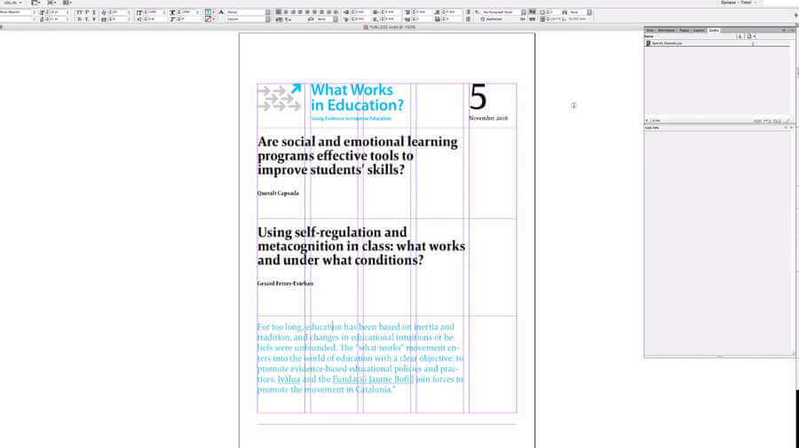 aprender a diseñar y maquetar un libro