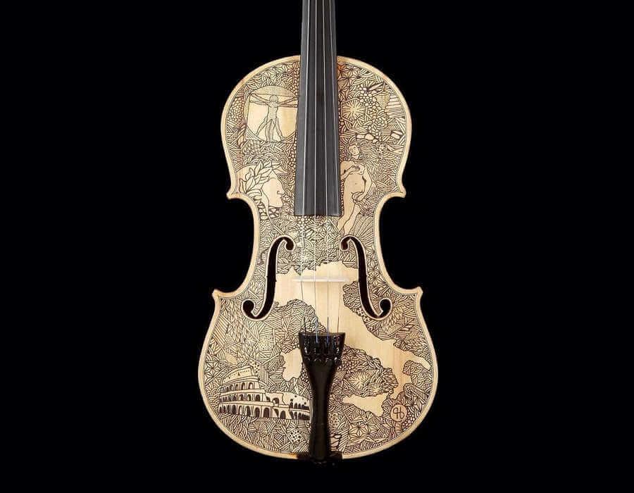 violines intervenidos